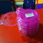 Θήκη CD-DVD Safekeeping Plastic Red Case