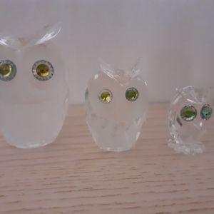 Κουκουβαγιες Swarovski