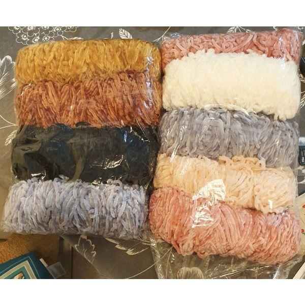 nimata chenille yarn for knitting or crochet