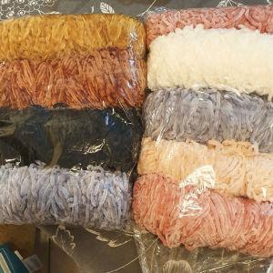 νηματα chenille yarn for knitting or crochet