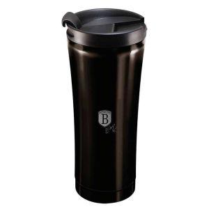 Berlinger Haus Ανοξείδωτο Θερμός - Παγούρι Καφέ 0.5L Μαύρο BH-6821