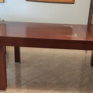 Τραπεζαρία , τέσσερις καρέκλες και καλύμματα καρέκλας