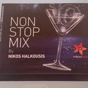 Non stop mix by Nikos Halkousis cd