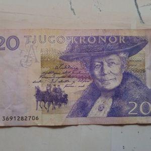 Σουηδικό χαρτονόμισμα
