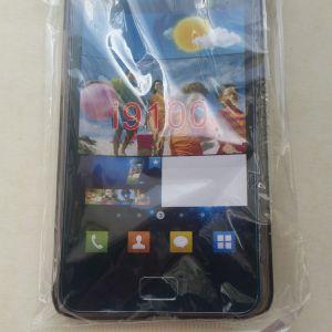 Μαύρη διαφανές κάλυμμα Θήκη για Samsung Galaxy S2