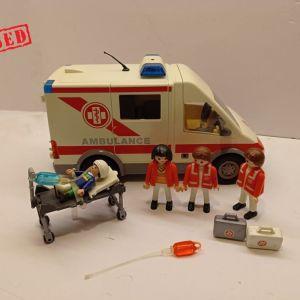 Playmobil - Ασθενοφόρο Όχημα