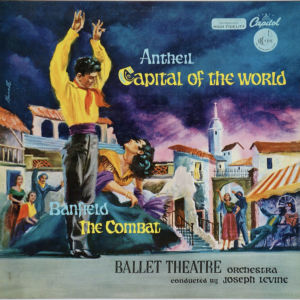 George Antheil - capital of the world (LP)