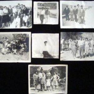 Παλαιές ασπρόμαυρες φωτογραφίες δεκαετίας 1950.