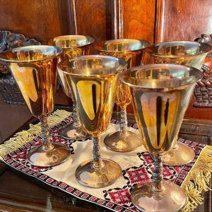 Επάργυρα Επώνυμα Ιταλικά Ποτήρια Κρασιού
