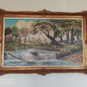 Πίνακες ζωγραφικής παλιοί 145Χ84 και 125Χ79