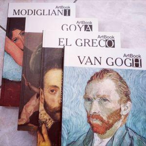 Συλλογή 4 Κλασσικοί Ζωγράφοι_v.gogh_el greco_modigliani_goya