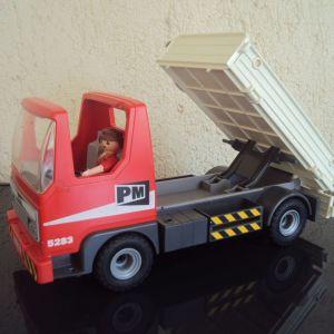 PLAYMOBIL Φορτηγό με ανατρεπομενη Καρότσα.