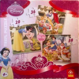 Trefl 3-in-1 Disney Puzzle (106 Pieces)