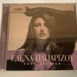Έλενα Παπαρίζου - Euro edition cd album