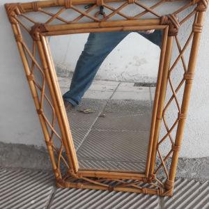 καθρέφτης  από μπαμπού