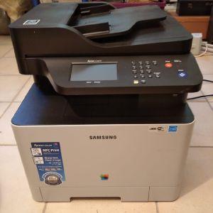Έγχρωμος πολυλειτουργικος εκτυπωτής laser Samsung Xpress SL-C1860 series