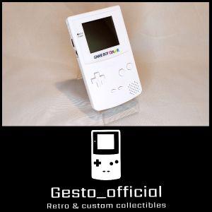 Game boy color (White) Gesto_official