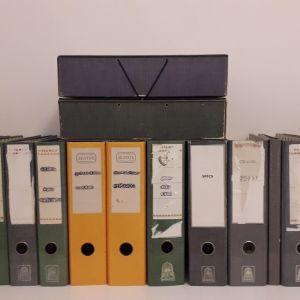 Ντοσιέ ( 14 ) + Κουτιά αποθήκευσης ( 2 )