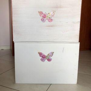 Κουτί αποθήκευσης 45χ34χ31εκ ξύλινο