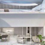 Μεζονέτα με πρωτότυπο αρχιτεκτονικό σχεδιασμό και αισθητική