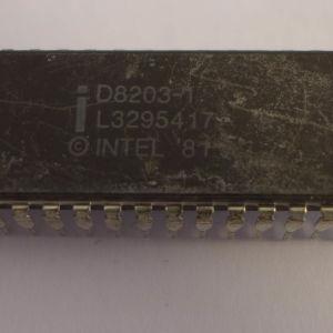 ΟΛΟΚΛΗΡΩΜΕΝΟ INTEL D8203-1 L329517 DIP40 MEMORY CONTROLLER