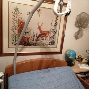 Κρεβάτι νοσοκομειακο  με μηχανισμο