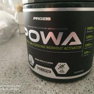 pre workout prozis