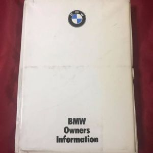 Συλλεκτικό Εγχειρίδιο κατόχου BMW E30 M40,, σπάνιω αχρησιμοποίητω,, Σε άριστη κατάσταση,,