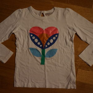 marks & spencer indigo μπλουζακι για 6-7χρ