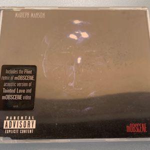 Marilyn Manson - Mobscene 4-trk cd singe