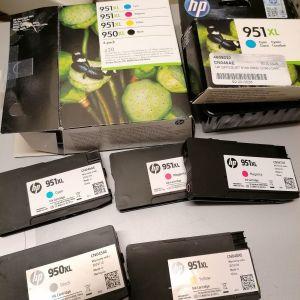 ΜΕΛΑΝΙΑ HP 950XL + 951XL