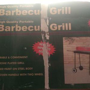 Ψησταριά barbeque τροχήλατη