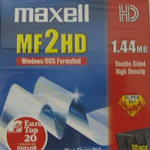 MAXELL ΔΙΣΚΕΤΕΣ 3,5 MF-2HD (10 pc)