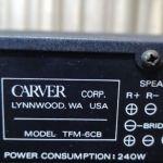 ΕΝΙΣΧΥΤΗΣ Τελικός  CARVER TFM-6CB  ( Made In Usa )