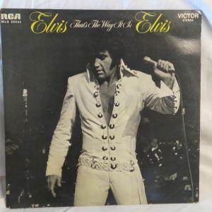 Δίσκος βινυλίου ELVIS.