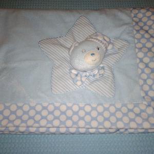 Βρεφική απαλή κουβέρτα