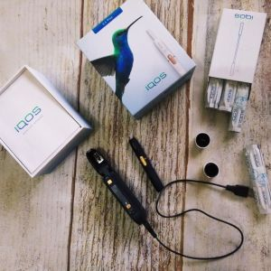 Η Ηλεκτρονική Συσκευή Θέρμανση IQOS Plus 2.4 p Bluetooth