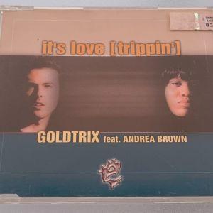 Goldtrix ft. Andrea Brown - It's love (trippin') 7-trk cd single
