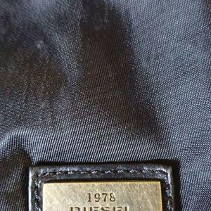 Diesel μαυρη τσαντα