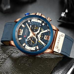 Ρολόι με Δερμάτινο Λουράκι CURREN H-223