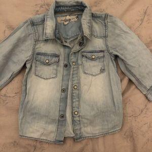 Τζιν πουκάμισο βρεφικό H&M