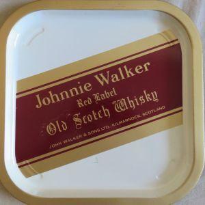 Μεταλλικος δισκος Johnnie Walker Red Label