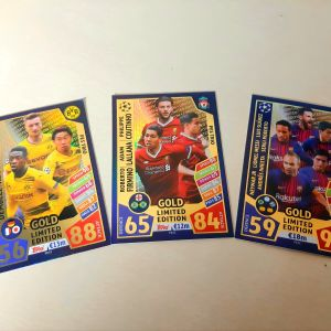 TOPPS MATCH ATTAX Gold (limited edition)