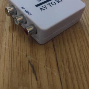 AV (RCA) to rf converter