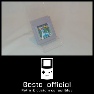 Pokemon Silver Version Game Boy Color Cartridge Gesto_official