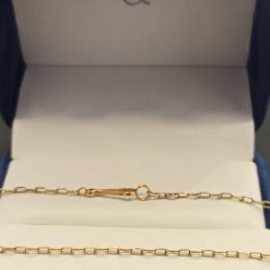 χρυσή αλυσίδα ψιλη 14Κ