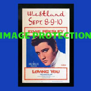 Αγγελιες Ελβις Πρισλεϊ Elvis Presley Loving You κινηματογραφικη αφισα αφισσα ποστερ poster κινηματογραφου σινεμα Elvis Presley Loving You movie window card poster