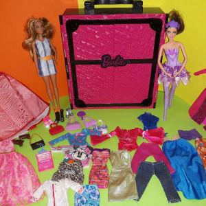 Barbie κούκλες &ντουλάπα & αξεσουάρ