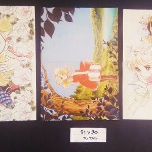 3 συλλεκτικές αυθεντικές αφίσες Κάντυ κάντυ 21Χ30 cm