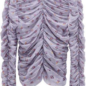 Μπλούζα μενεξεδί αφόρετη - XL